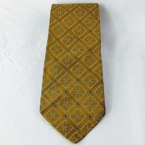 Robert Talbott Best in Class Gold Classic Silk Tie
